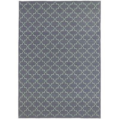 Moroc Hand Woven Wool Rug, 250x350cm, Grey