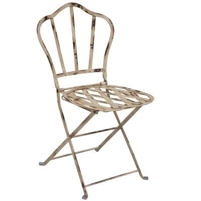 Clarendon Lattice Metal Garden Side Chair