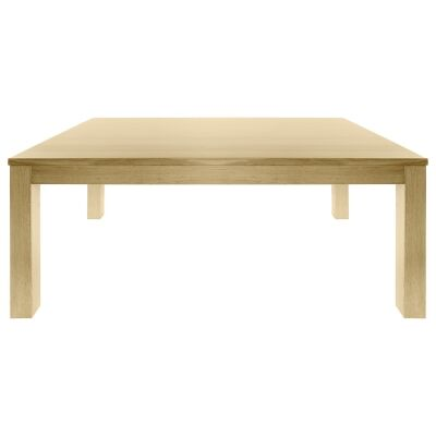 Moselia Tasmanian Oak Timber Dining Table, 180cm, Natural