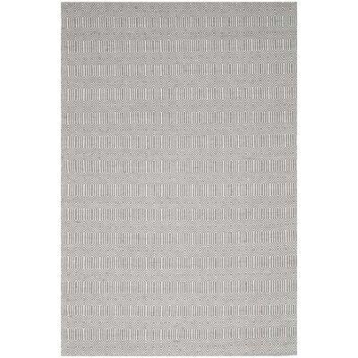 Natura Ariana Hand Woven Cotton Rug, 170x120cm, Fog