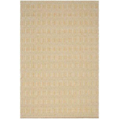 Natura Ariana Hand Woven Cotton Rug, 170x120cm, Polenta