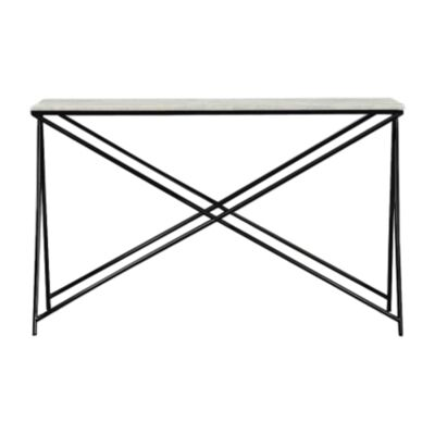 Celle Marble & Metal Console Table, 120cm