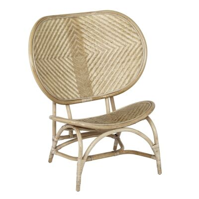 Belize Rattan Lounge Chair