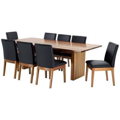 Nobby Blackwood Dining Table (Table Only), 230cm