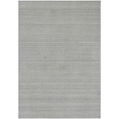 Norge Flatwoven Wool & Viscose Rug, 230x160cm, White