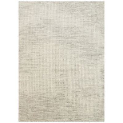 Scandi Reversible Wool Rug, 160x230cm, Beige