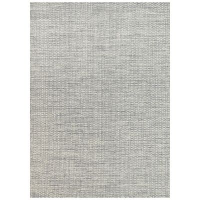 Scandi Reversible Wool Rug, 160x230cm, Grey
