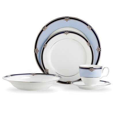 Noritake Springbrook 20 Piece Fine Porcelain Dinner Set