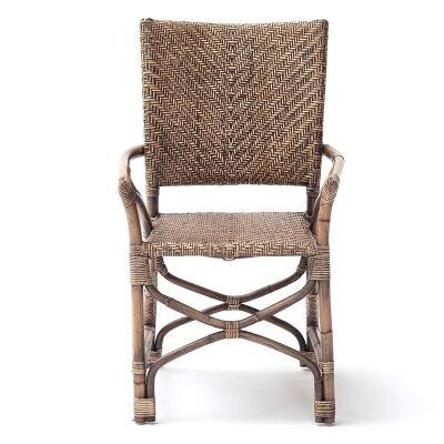 Roche Kubu Rattan Dining Armchair, Set of 2