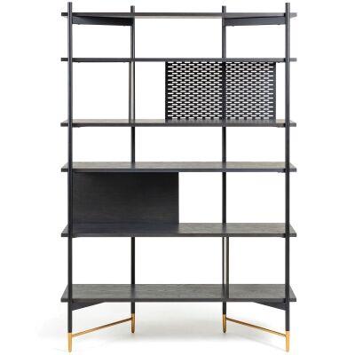 Macleod Ashwood & Metal Display Shelf