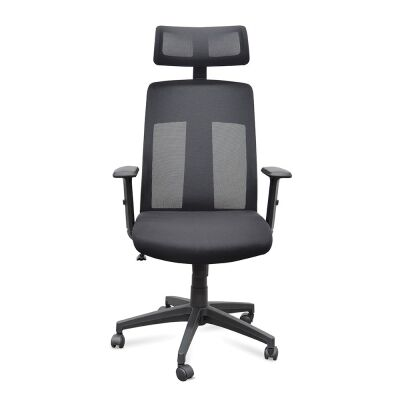 Skalo Mesh Fabric Office Chair, High Back