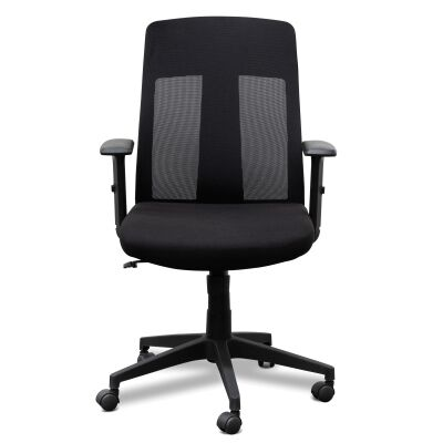 Skalo Mesh Fabric Office Chair, Mid Back