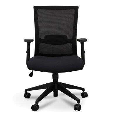 Garner Mesh Fabric Office Chair, Black