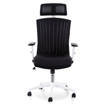 Barnsley Fabric Office Chair, Black / White