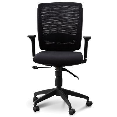 Alton Fabric Office Chair, Black