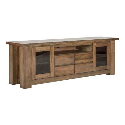 Wendelin Messmate Timber 2 Door 4 Drawer TV Unit, 195cm