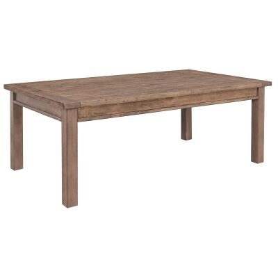 Griffin Pine Timber Coffee Table, 120cm