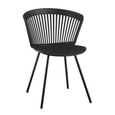 Oliva Dining Chair, Black