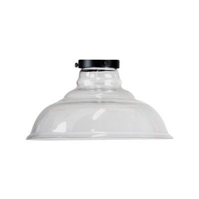 Toledo Glass Pendant Light Shade, Clear