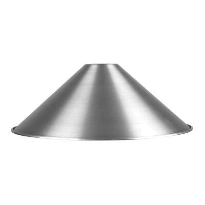 Victoriana Aluminium DIY Shade, 34cm, Brushed Aluminium