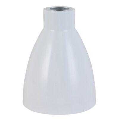 Retro Metal Pendant Light Shade, White