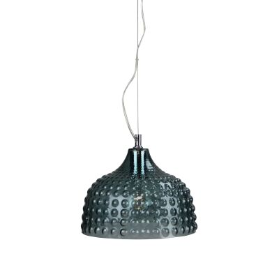 Cara Glass Pendant Light, Mint