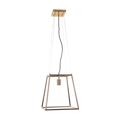 James Metal Pendant Light, Copper