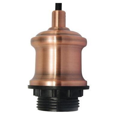 Albany Pendant Light Cord Suspension, Copper