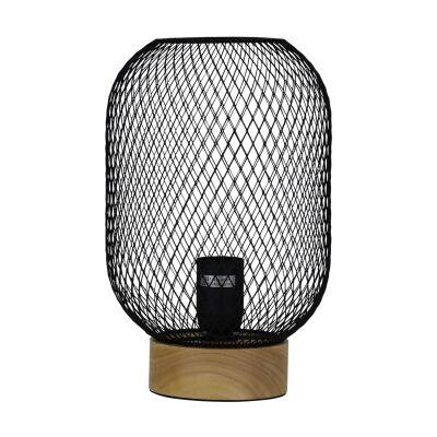 Tilda Mesh Table Lamp, Black