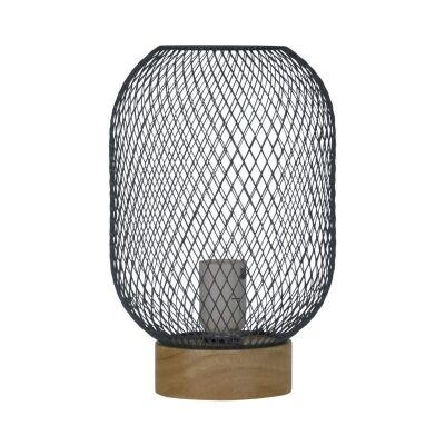 Tilda Mesh Table Lamp, Grey