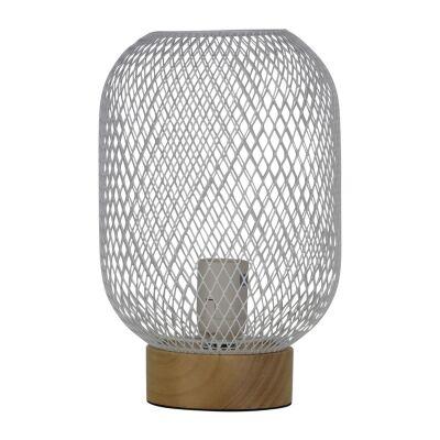 Tilda Mesh Table Lamp, White