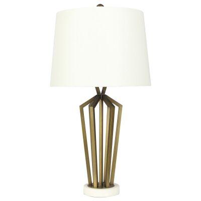 Romsey Metal & Marble Base Table lamp