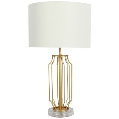 Ware Metal Base Table lamp