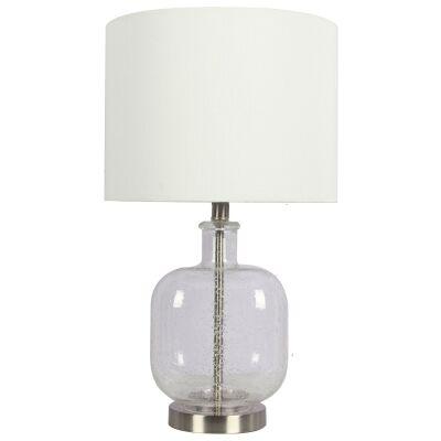 Elise Glass Base Table lamp