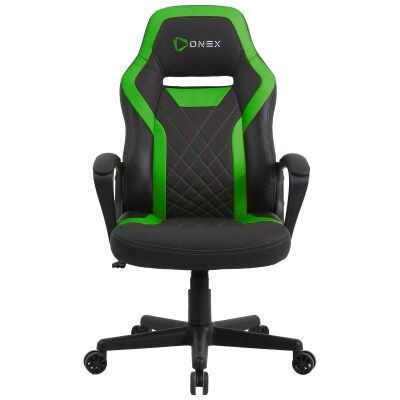 ONEX GX1 Gaming Chair, Black / Green