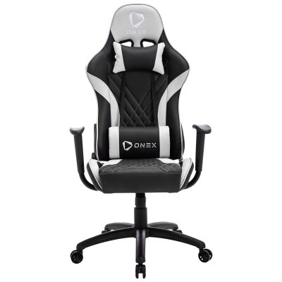 ONEX GX2 Gaming Chair, Black / White