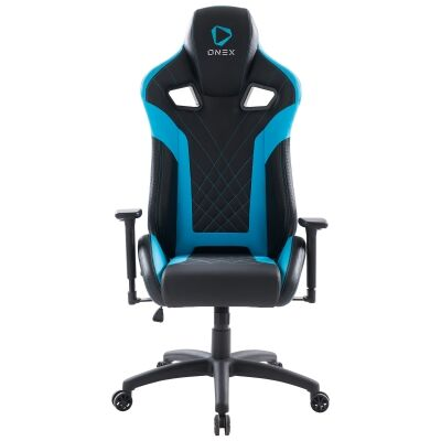 ONEX GX5 Gaming Chair, Black / Blue