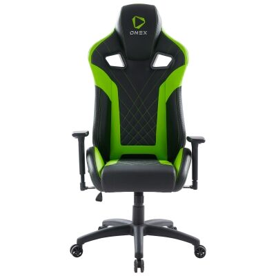 ONEX GX5 Gaming Chair, Black / Green