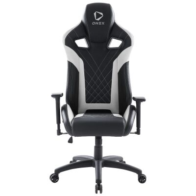 ONEX GX5 Gaming Chair, Black / White