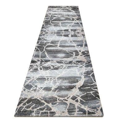 Lavish Emporia Modern Runner Rug, 80x300cm, Granite