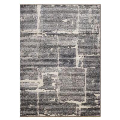 Lavish Chelsea Modern Rug, 80x150cm, Granite