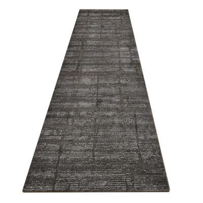 Lavish Chelsea Modern Runner Rug, 80x300cm, Slate