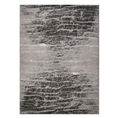 Lavish Essex Modern Rug, 160x230cm, Ash