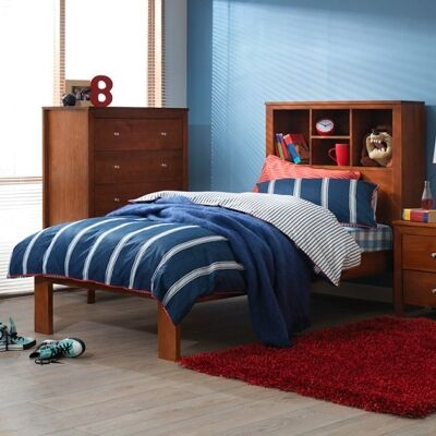 Tiarra Solid Pine Timber Single Bed
