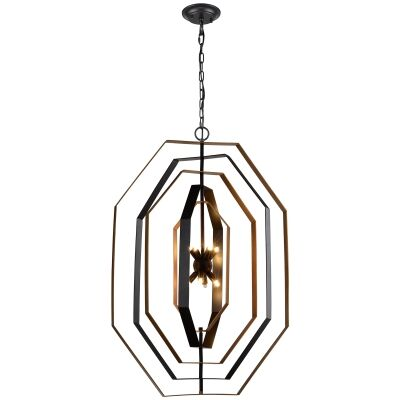 Orbita Metal Swivel Pendant Light, Large, Bronze