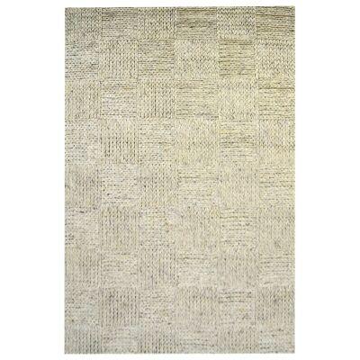 Ottawa Braided Modern Wool Rug, 230x160cm, Grey Wash