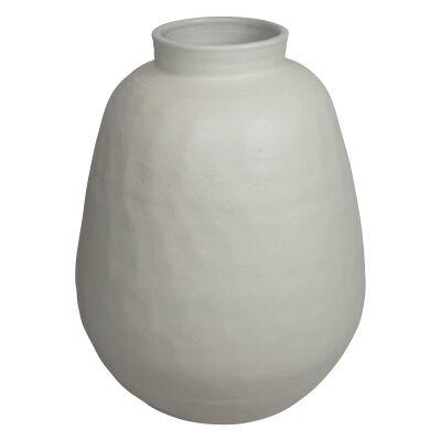 Milos Glazed Ceramic Pot, Large