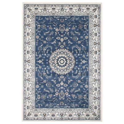 Palace Manal Oriental Rug, 120x170cm, Blue / White