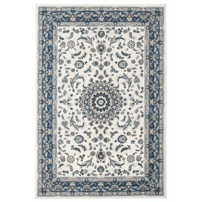 Palace Manal Oriental Rug, 120x170cm, White / Blue