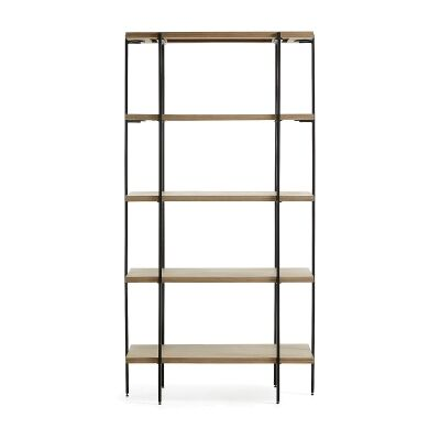 Aparador Mango Wood & Iron Display Shelf